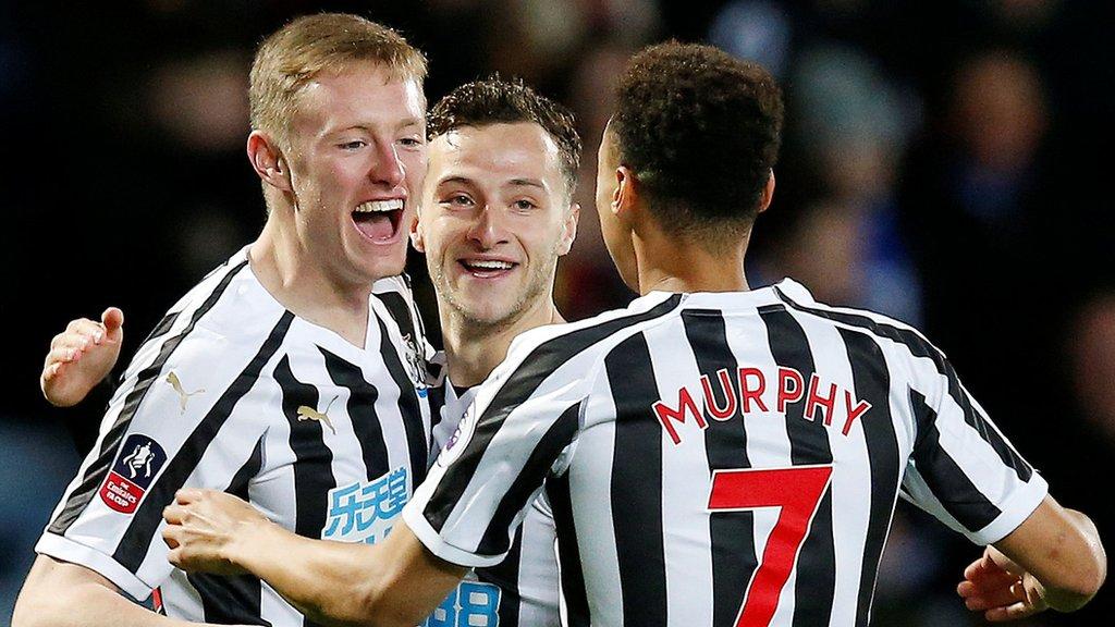 Blackburn beaten by Newcastle in FA Cup