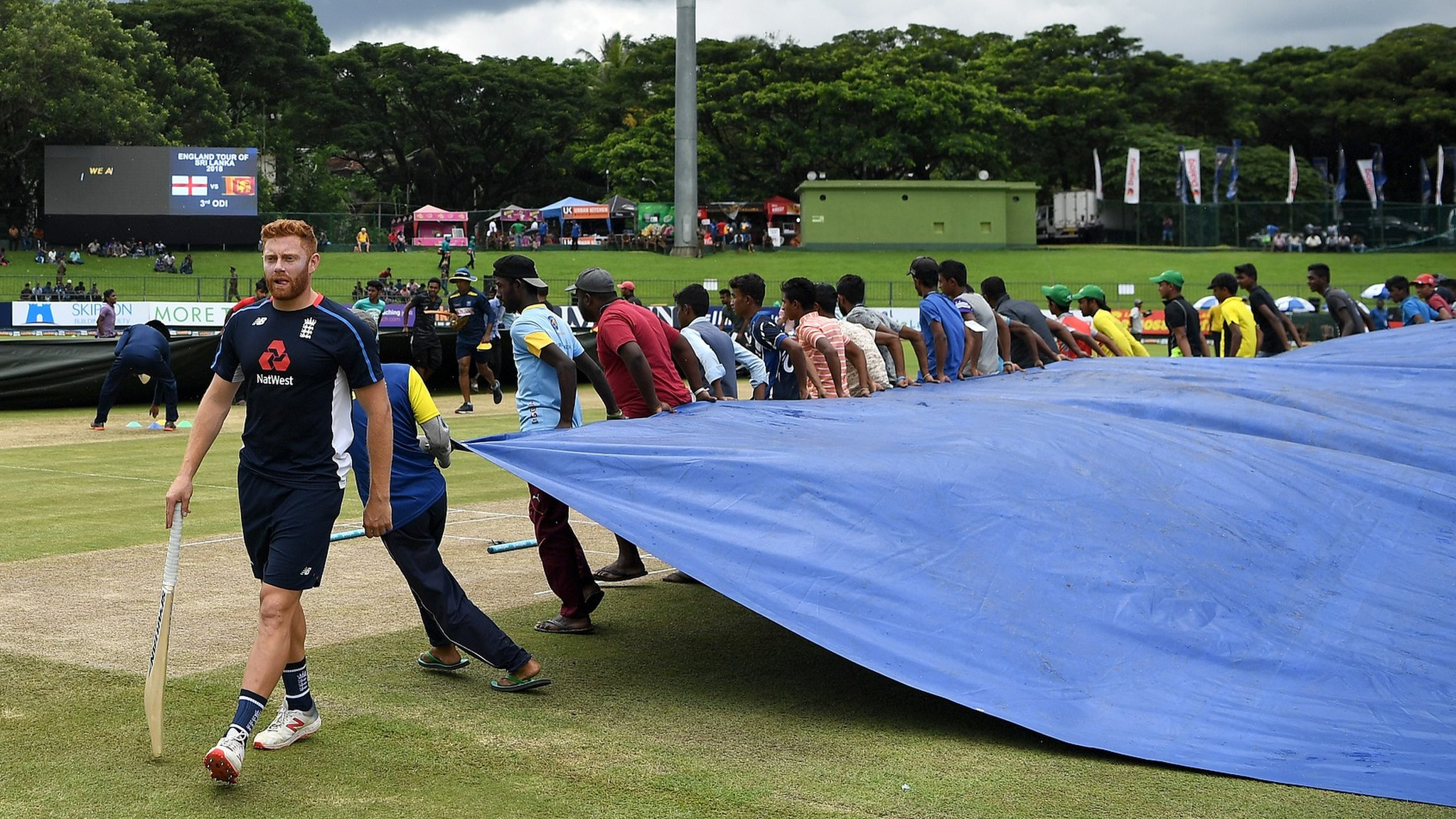 Sri Lanka v England: ECB defends touring during monsoon season