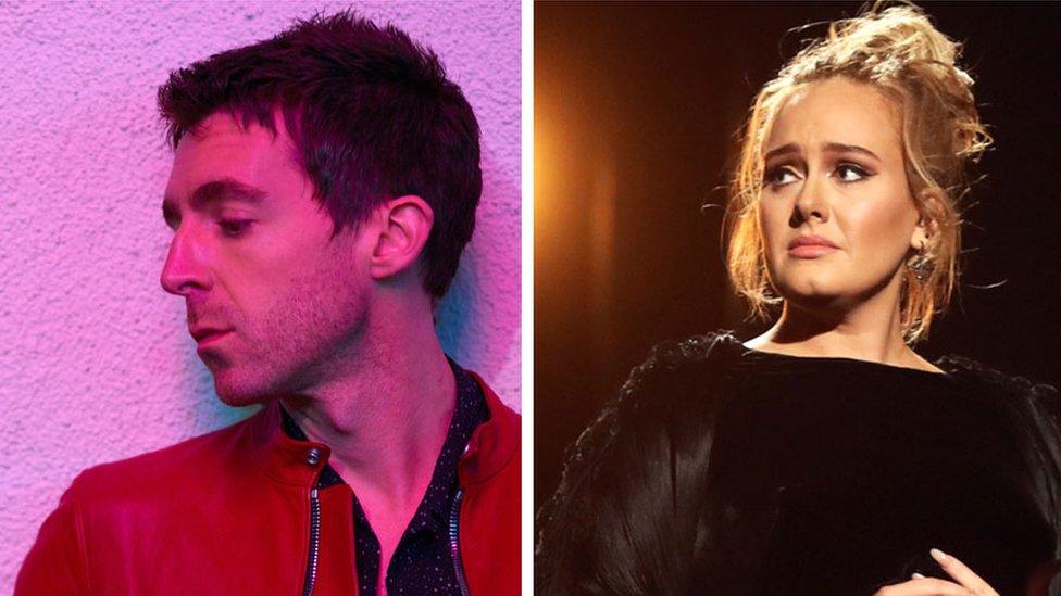 'This is my Adele album' says Miles Kane
