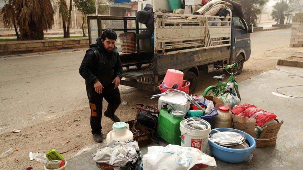Guerra en Siria.