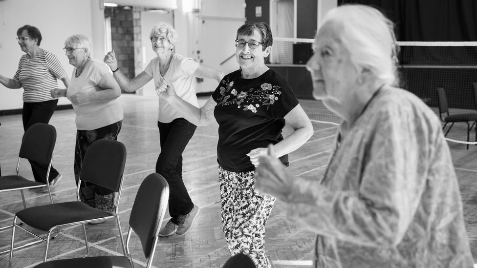 Southmead residents enjoy an active class
