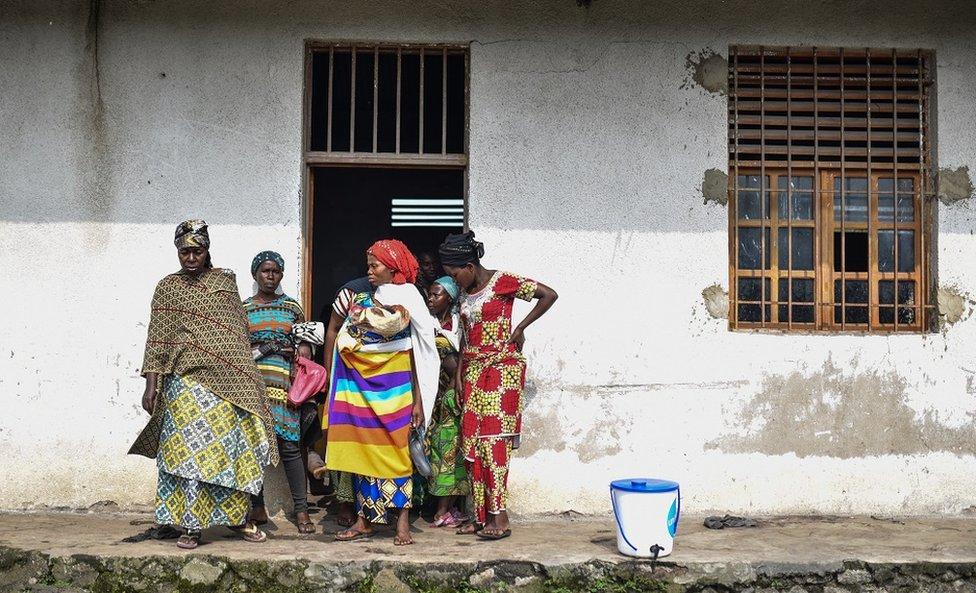 Mujeres en Congo