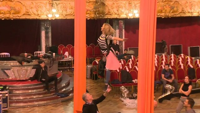 Strictly rehearsals
