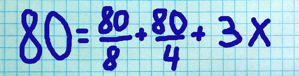 ecuación simple