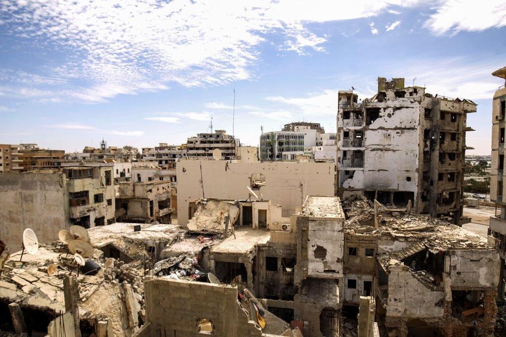 مدينة بنغازي شرق ليبيا، 13 مارس/آذار 2018