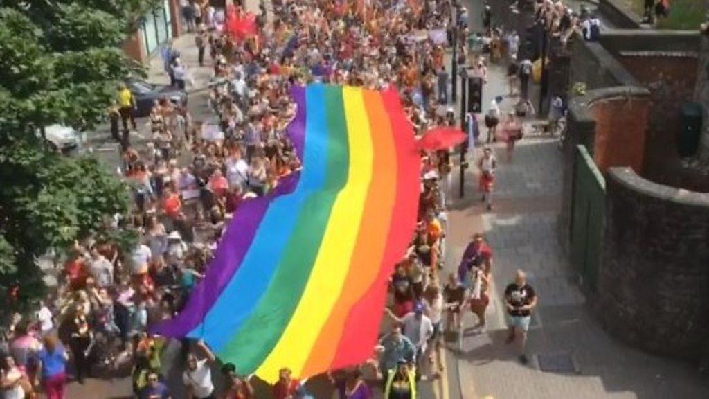 Bristol Pride saw more than ten thousand people parade