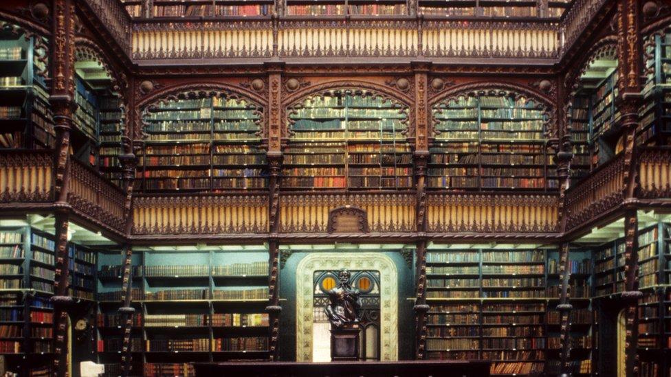El Real Gabinete Portugués de Lectura en Río de Janeiro, Brasil