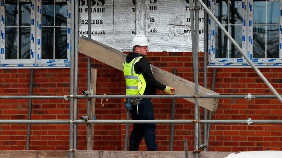 Builder on scaffolding