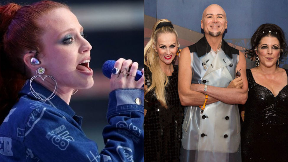 BBC News - Jess Glynne and The Human League to top Camp Bestival bill