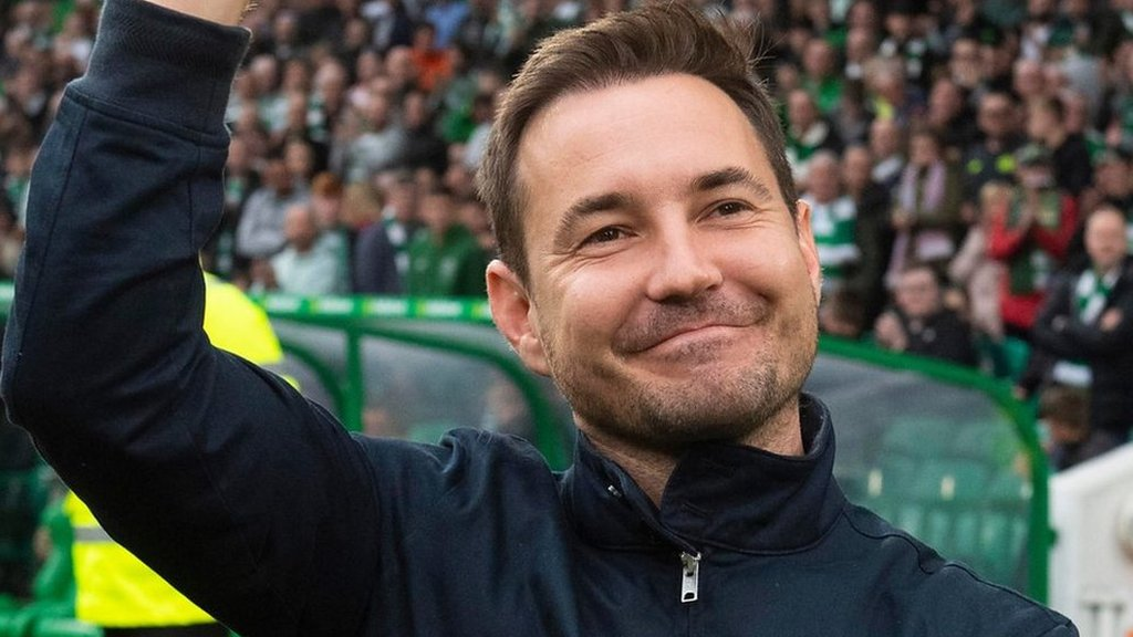 Line of Duty star Martin Compston backs Steve Clarke for Scotland