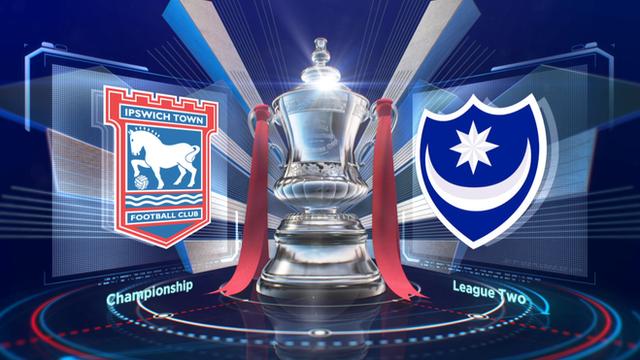 Highlights: Ipswich 2-2 Portsmouth