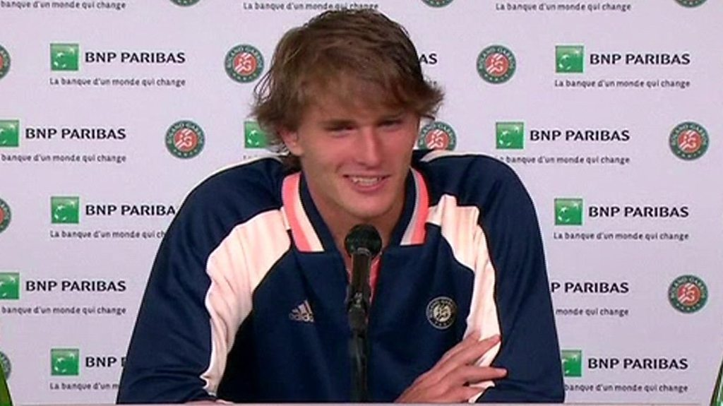 Zverev struggles to understand Yorkshire accent