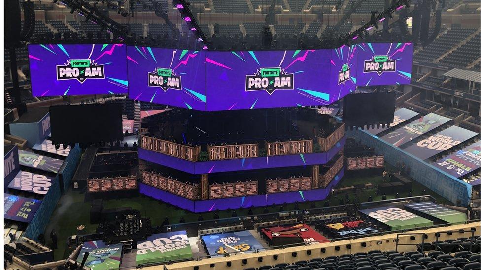 Estadio de la final mundial en Nueva York