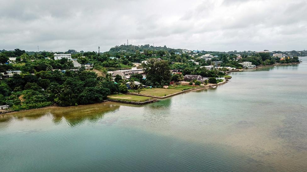 Port Vila, capital de Vanuatu