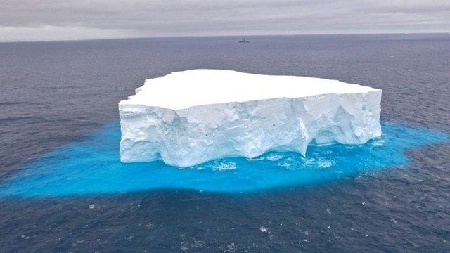 antarktika'da buzul