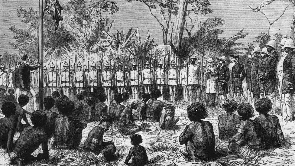 Port Moresby, 1885