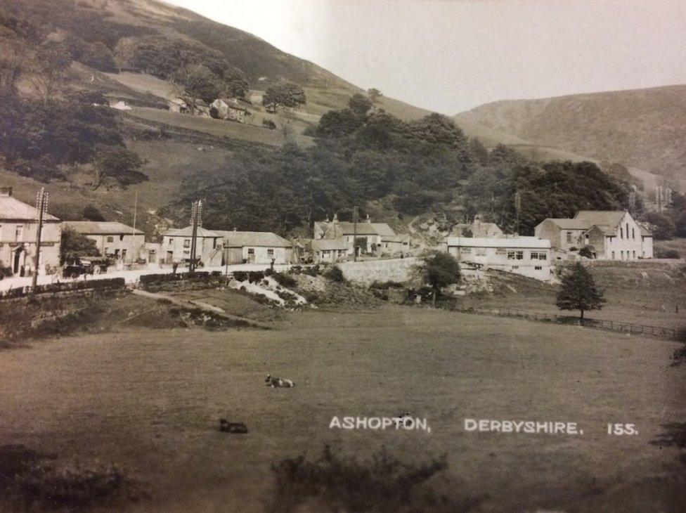 Postcard of Ashopton
