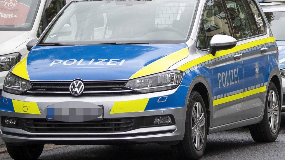 File pic of German police car