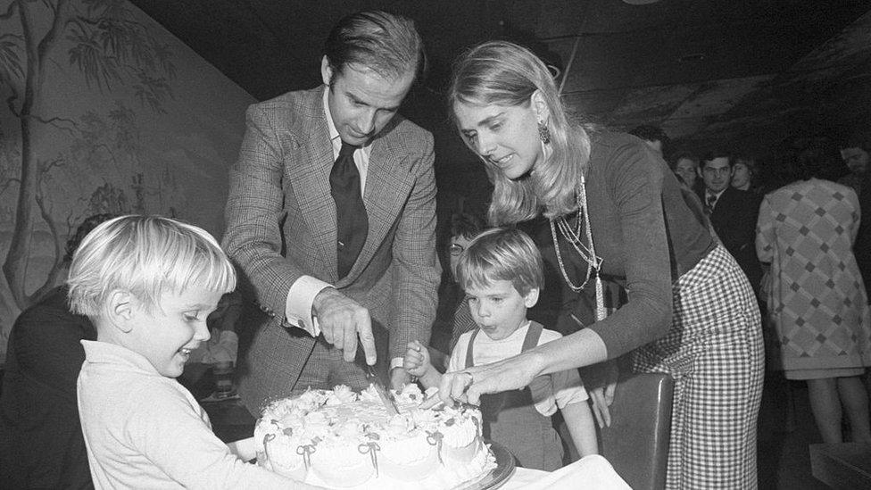La familia Biden