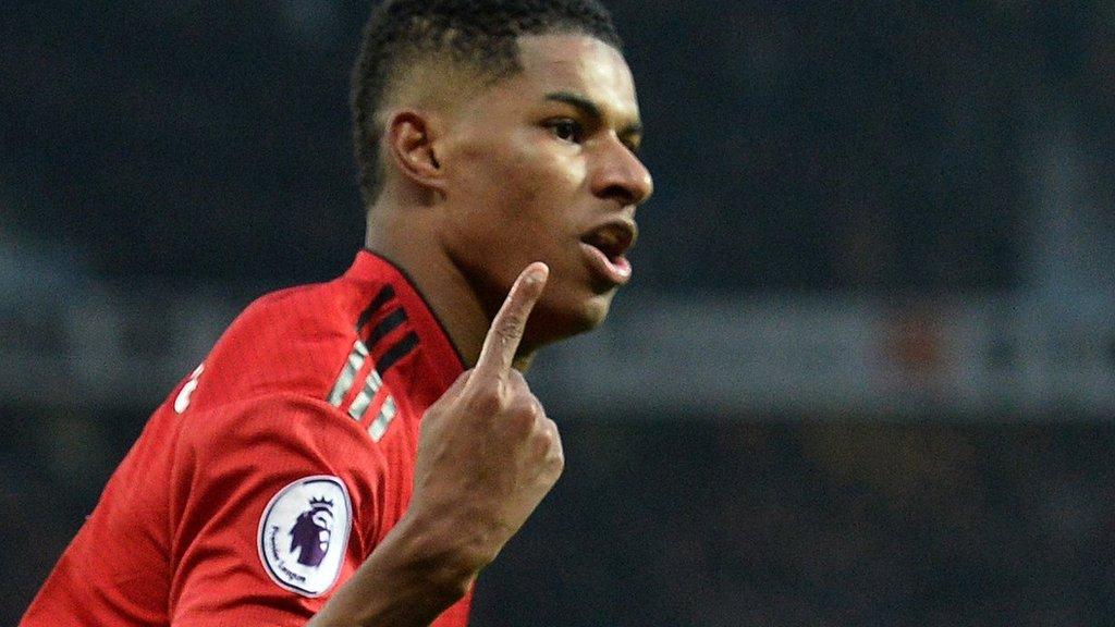 Marcus Rashford: Man Utd striker can be Premier League's best with Harry Kane out - Ole Gunnar Solskjaer