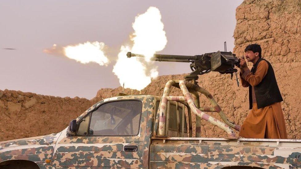 Война в Афганистане. Талибы ведут уличные бои и пытаются взять города Герат, Лашкаргах и Кандагар
