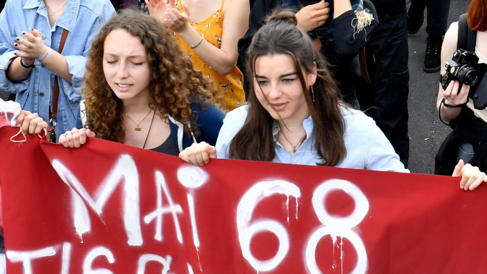 Reviving the ghosts of France's 1968 revolt