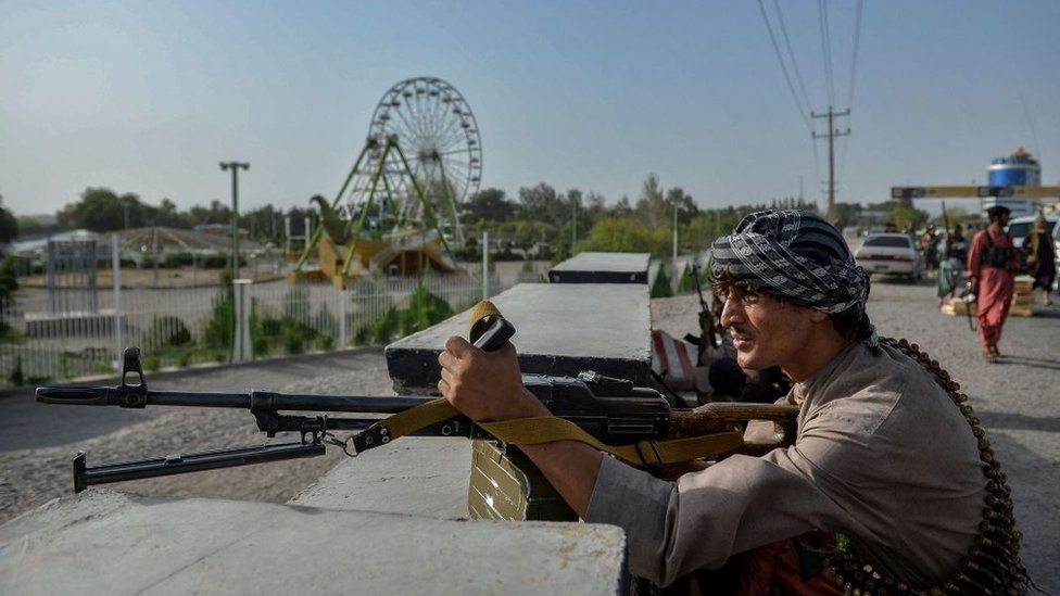 Los talibanes están a las puertas de Kabul