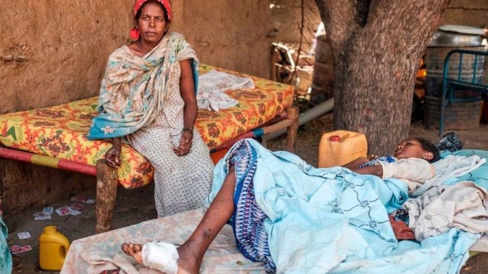 ضحايا الحرب في تيغراي