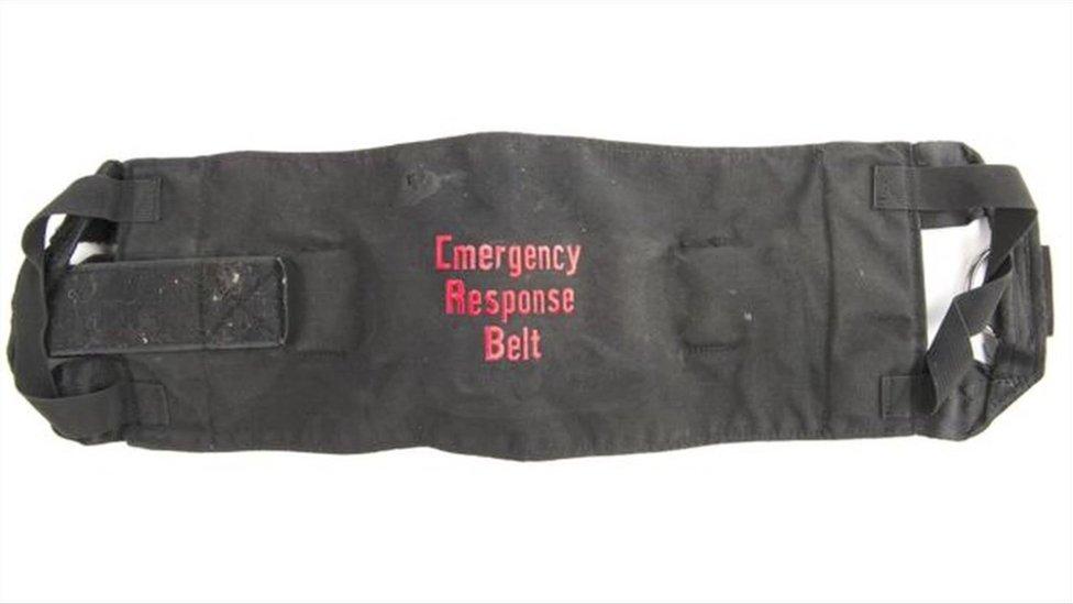 Restraint belt