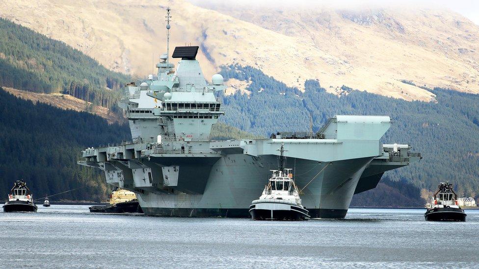 這是伊麗莎白女王號2017年正式開始服役後,首次大型駐外行動。