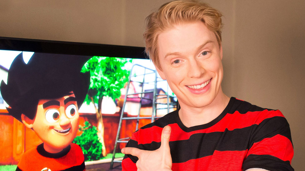 Freddie Fox and his character Dennis