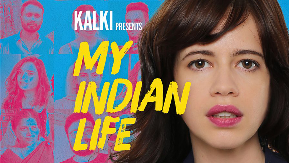 The actress Kalki presenter of the My Indian Life podcast