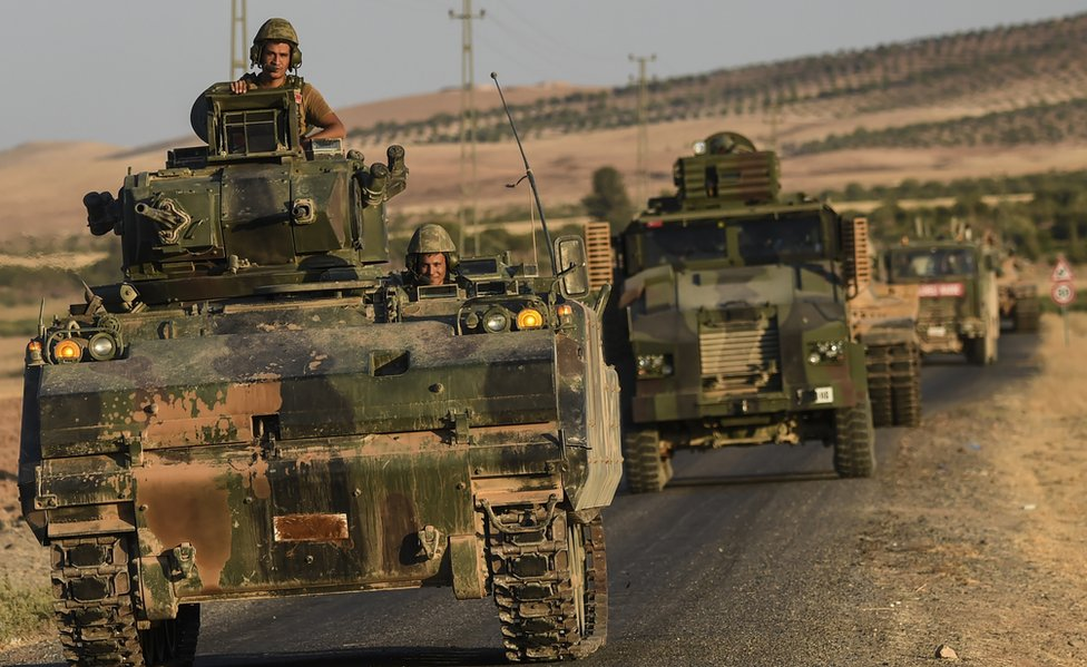 Turkish troops involved in Jarabulus operation, 2 Sep 16