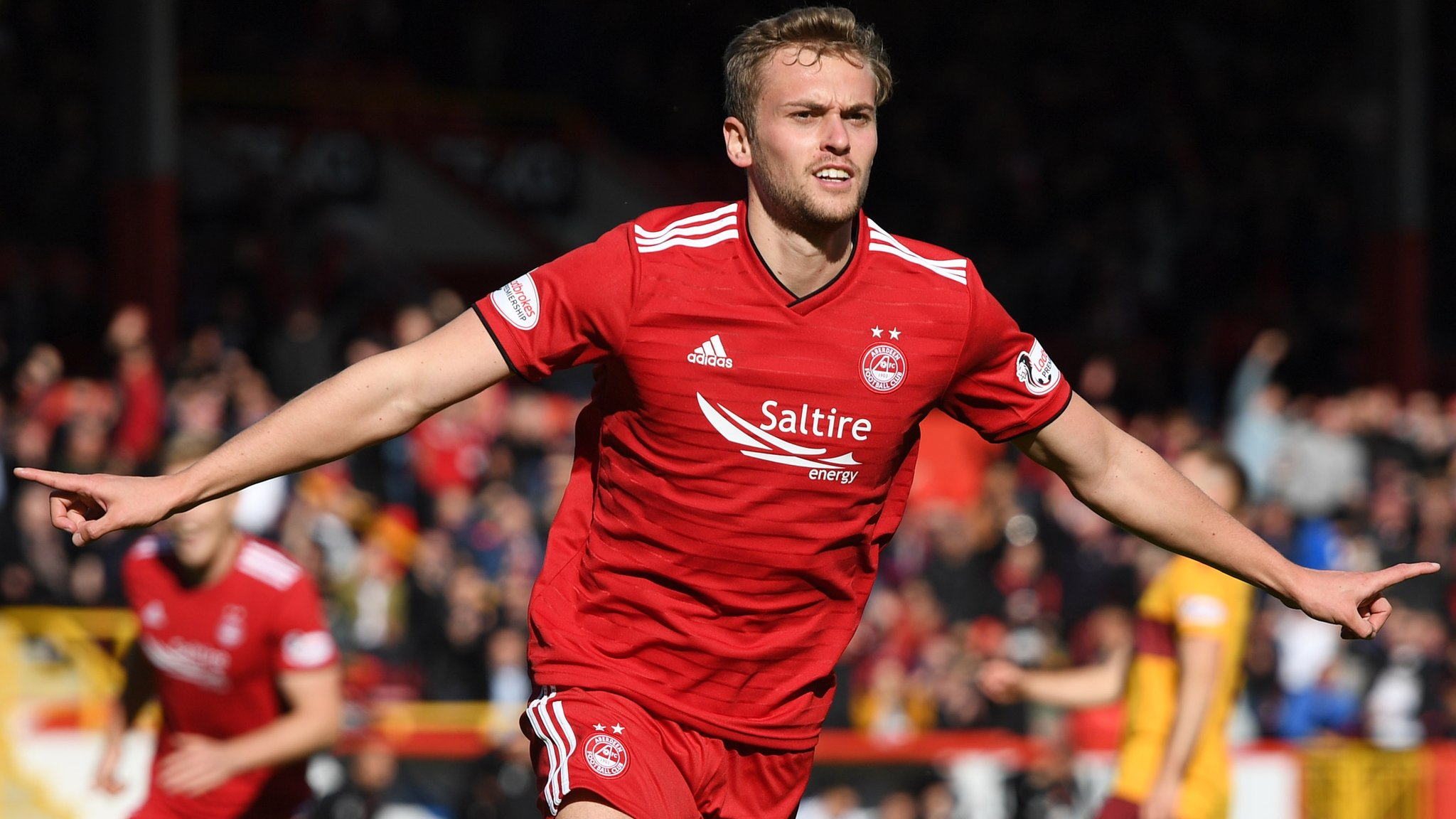 James Wilson goal gives Aberdeen 1-0 win over Motherwell