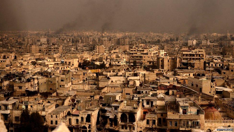 Snimak starog Alepa