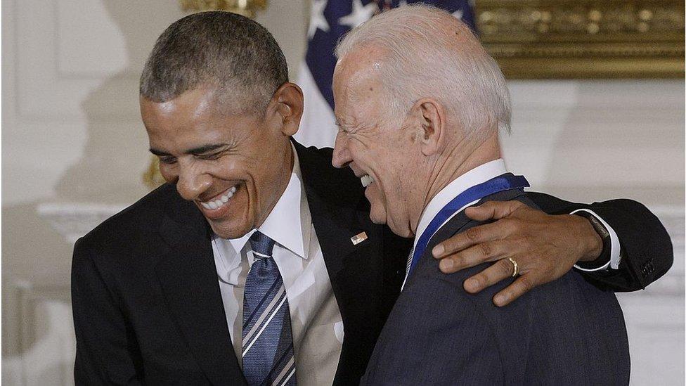 拜登是奧巴馬時期的美國副總統