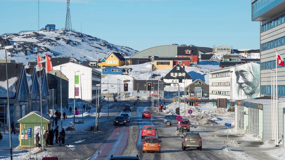Una vista de Nuuk