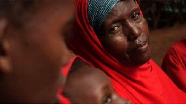 Somali refugee in Dadaab