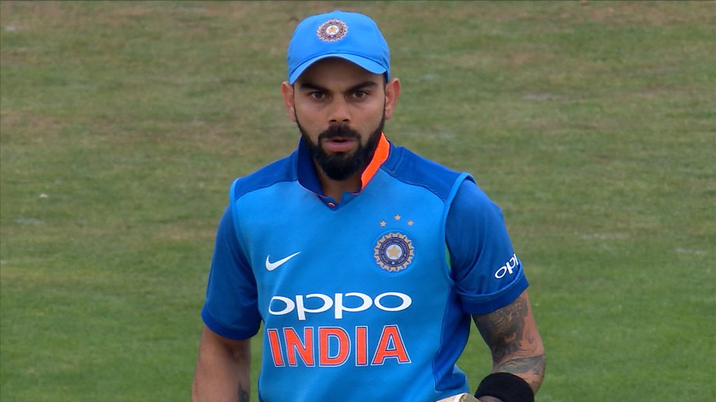Watch: Rashid bowls Kohli with 'an absolute beauty'