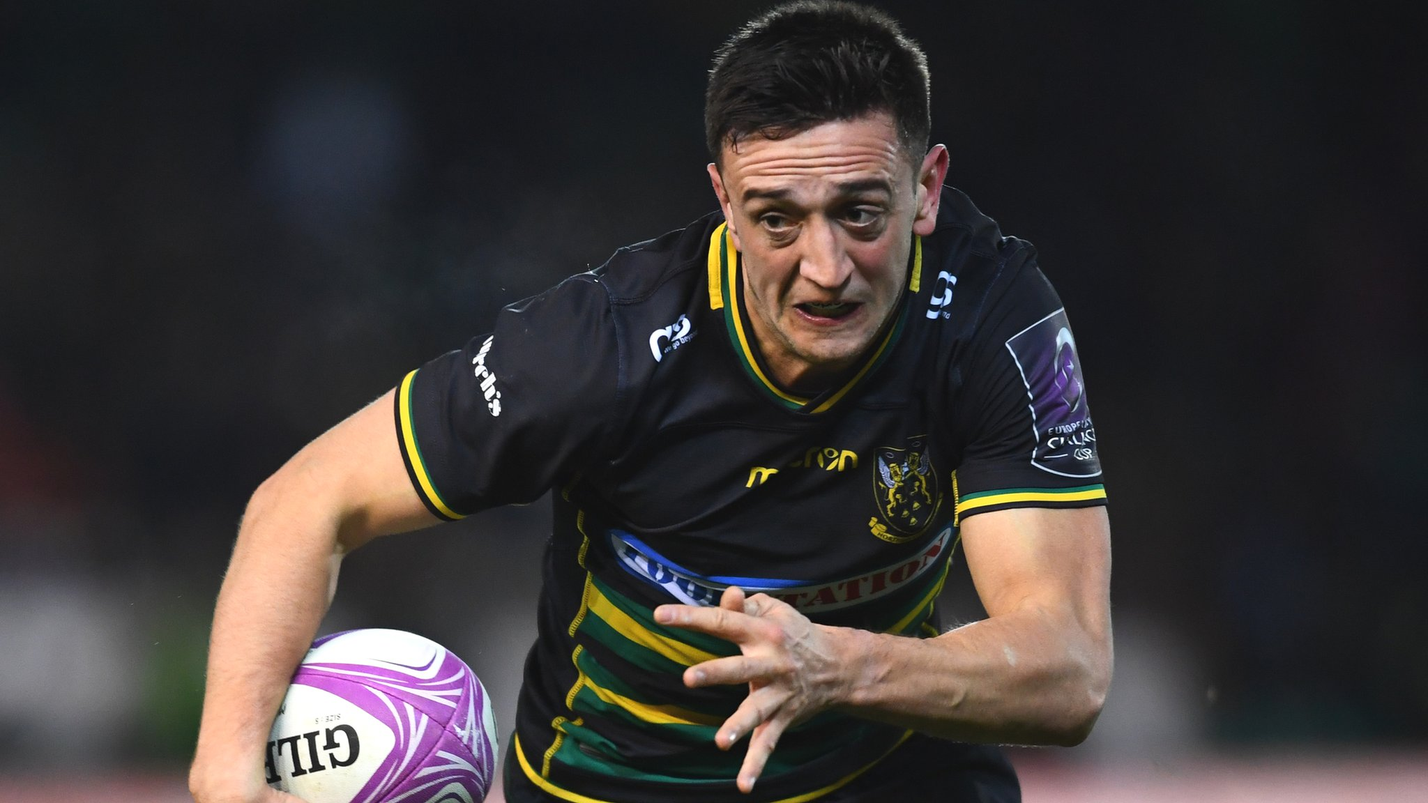 Northampton score 17 tries in Challenge Cup rout