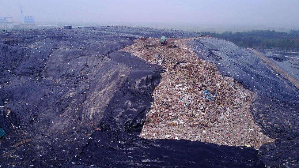 垃圾處理:中國最大填埋場提前退休後怎麼辦
