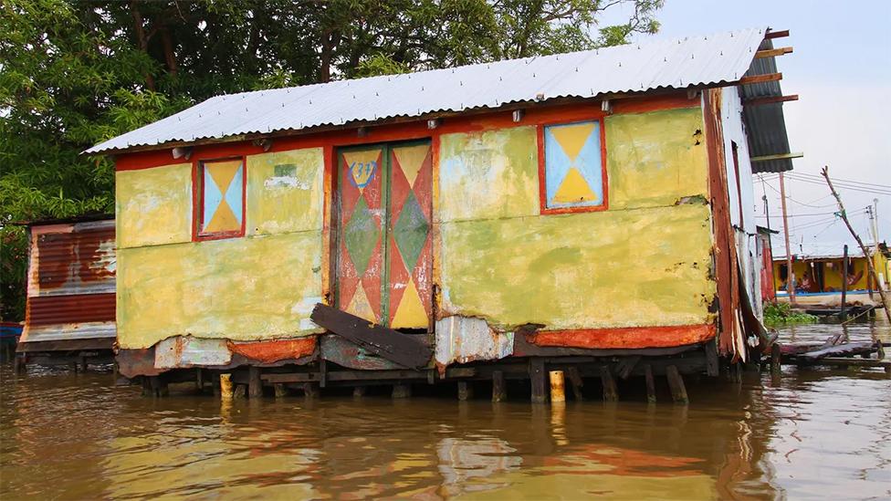 Lago de Maracaibo, en Venezuela
