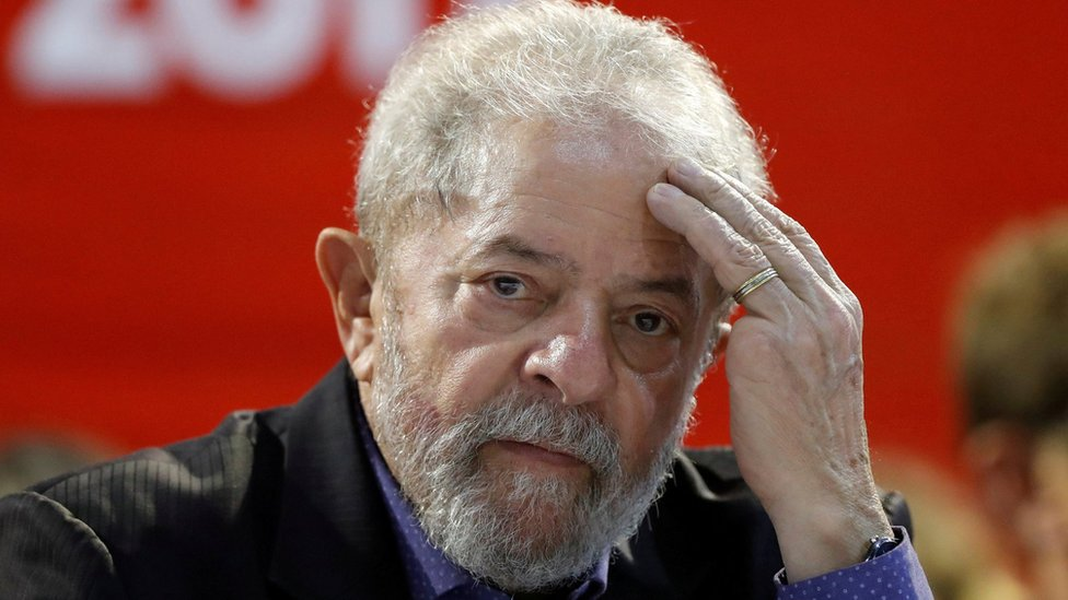 Luiz Inacio Lula da Silva attends a Workers Party (PT) congress in Sao Paulo, Brazil, May 5, 2017