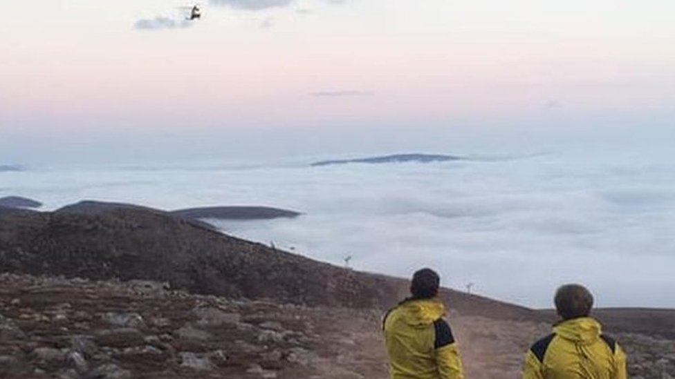 Charity walkers rescued after being stuck overnight on Ben Macdui