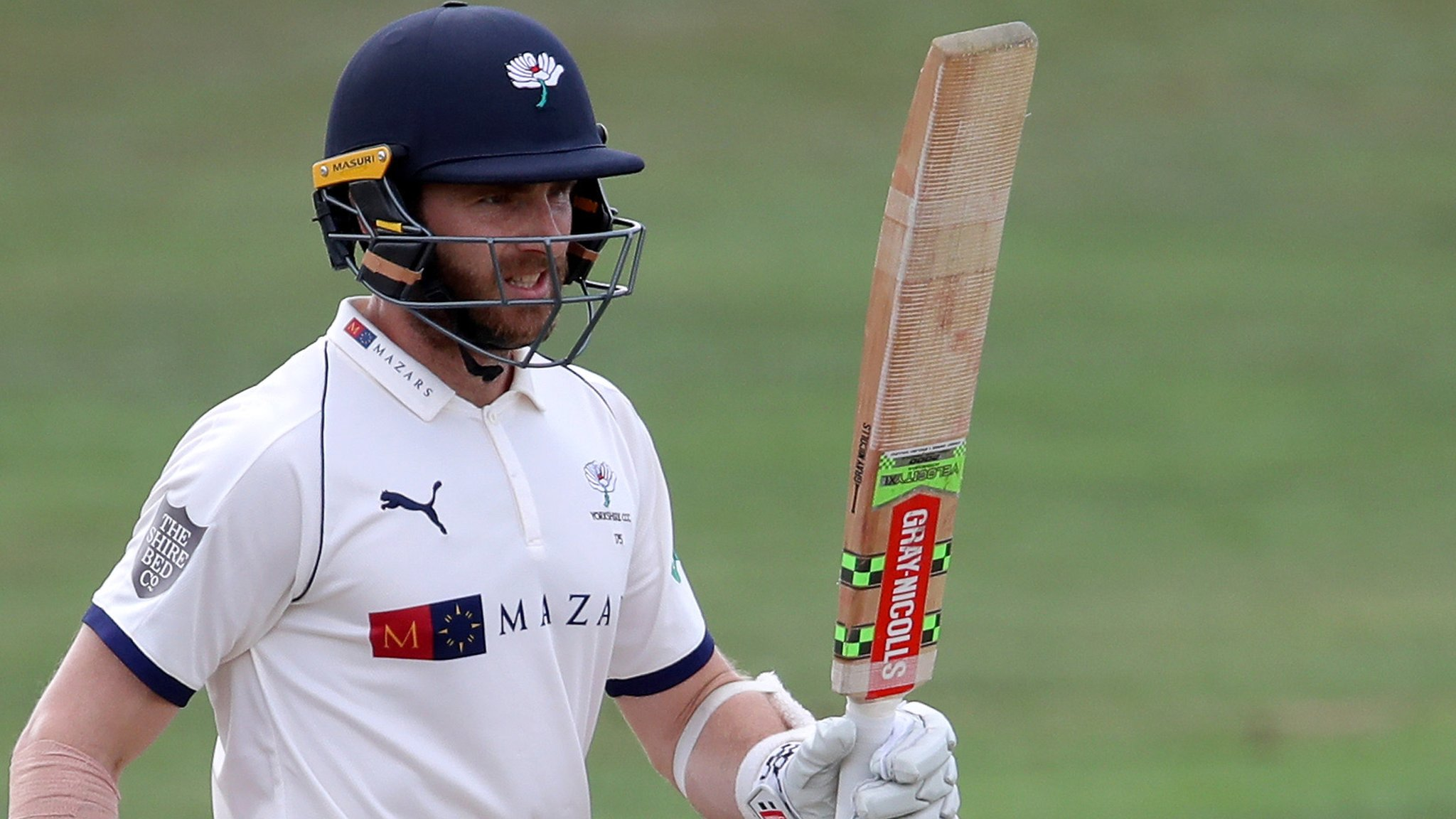 County Championship: Yorkshire bowled out by Worcestershire on day one