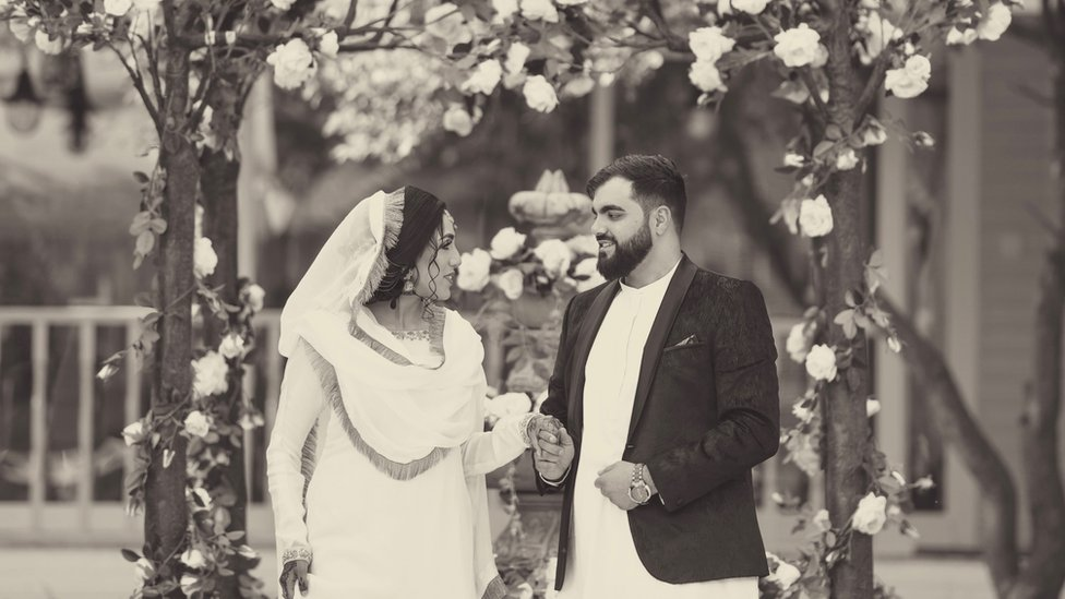 Alisha Rehman and her husband
