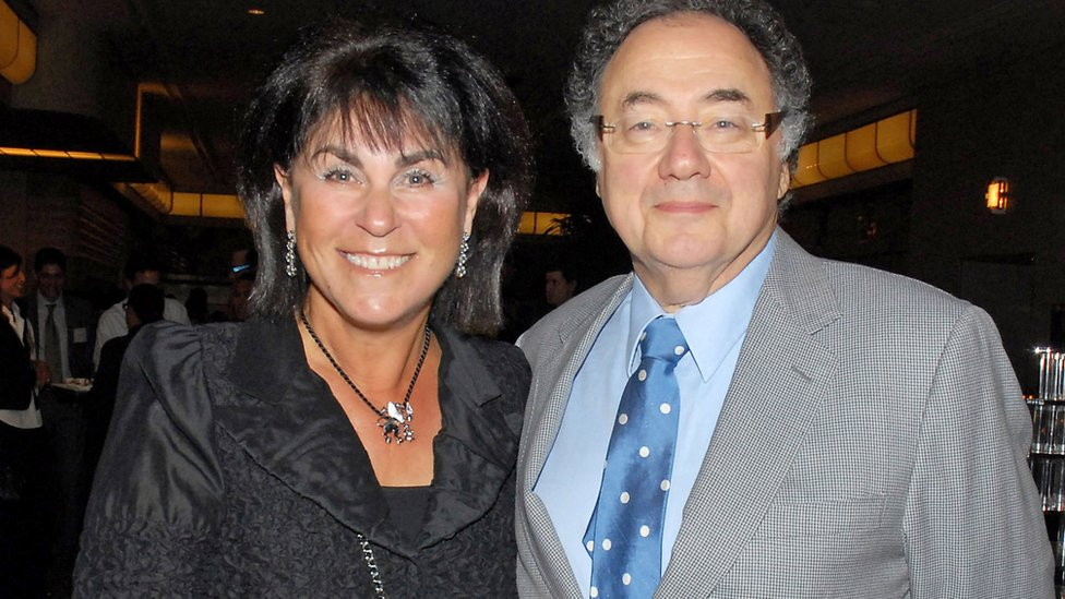 Honey and Barry Sherman at the annual United Jewish Appeal (UJA) fundraiser in Toronto, Ontario, Canada, August 24, 2010