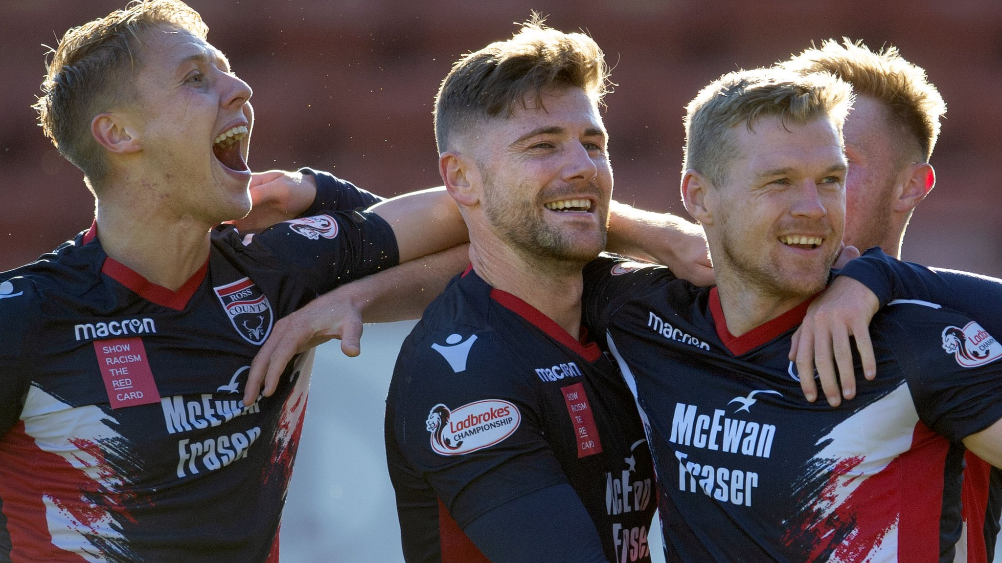 Ross County beat Thistle to stay second
