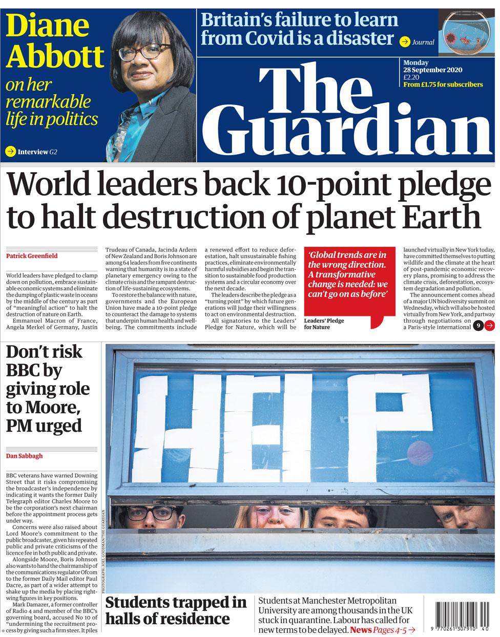 The Guardian 28 September
