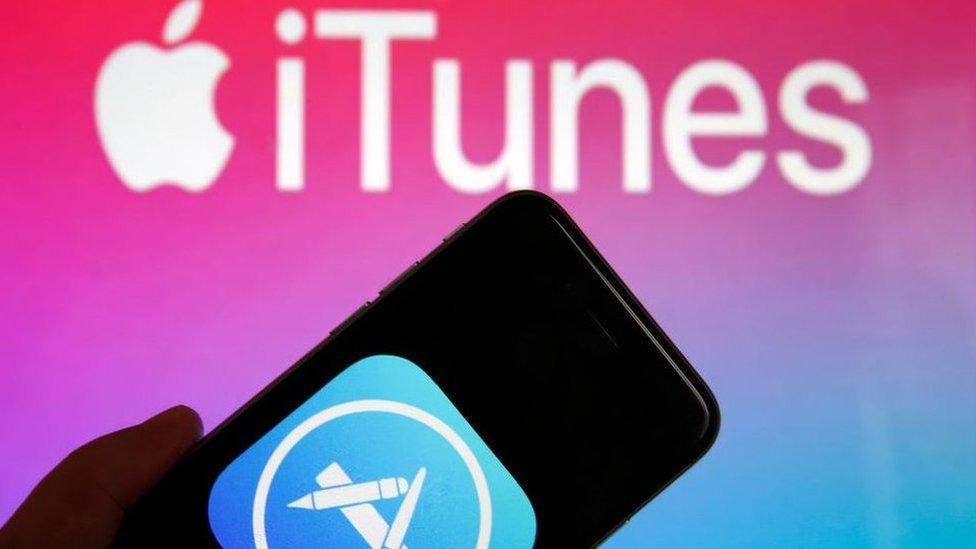 Logo de iTunes.